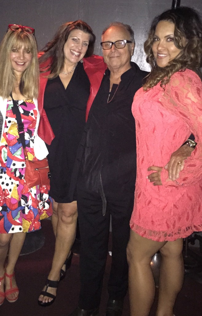 Janice Biehl (Writer/Producer), Cyrene Jagger (Manager), Alan Roderick-Jones, and Joanna Pearl