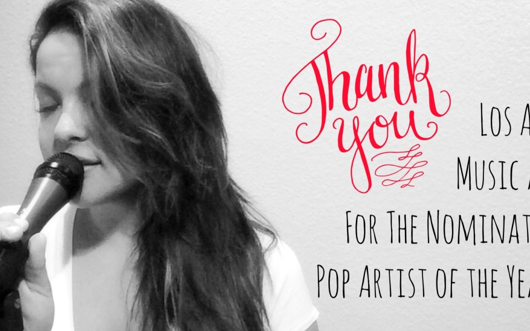 Nomination for Pop Artist of the Year 2015