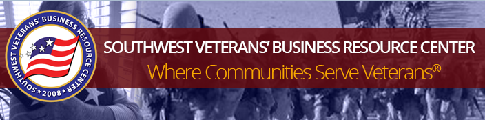 SouthWest Veterans' Business Resource Center logo